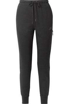 08fb9c266f32 Nike - Tech Fleece cotton-blend track pants