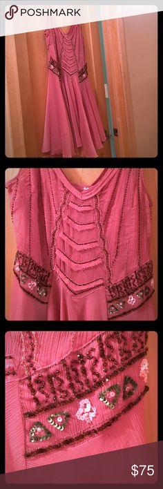Selling this Free People embellished dress on Poshmark! My username is: blairemck. #shopmycloset #poshmark #fashion #shopping #style #forsale #Free People #Dresses & Skirts