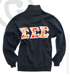 sorority sugar ❥ GetsSomeGreek!  This. With either my first name or monogram embroidered on the front. Help.