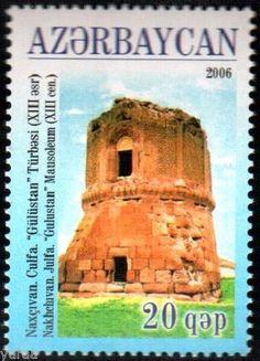 Azerbaijan-2006-Architecture-Mausoleum-034-Gulustan-034-1v
