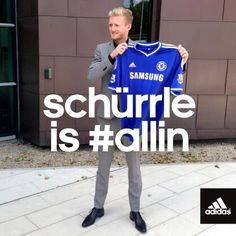 Welcome to London @Andre_Schuerrle! #allincfc