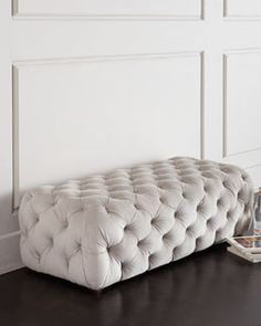 H83Y5 Grace Tufted Bench