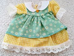Outfit for 15 dolls  Dress bloomers headband