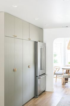 Sarah Sherman Samual and Eden Passante share a charming kitchen and dining room remodel. A modern and rustic kitchen and dining room with Ikea cabinets! Dining Room Remodel, Room, House, Interior, Home, Room Remodeling, House Interior, Kitchen Renovation, Kitchen Design