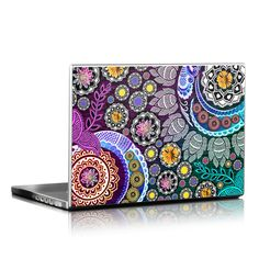 Laptop Skin - Mehndi Garden