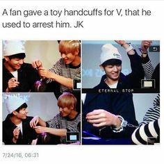 Alright if you don't think this is cute then something is wrong with you. Look at this, KookV at it again with this adorable stuff. ;-;