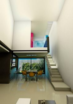 Busca imágenes de diseños de Casas estilo minimalista: CASA RESIDENCIAL EL CIELO. Encuentra las mejores fotos para inspirarte y y crear el hogar de tus sueños.