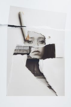 Assaf Matarasso - vintage style portraits #collage #art
