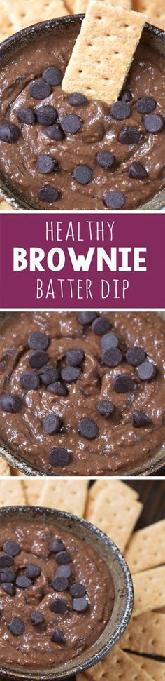 This tasted like eating actual brownie batter! Brownie batter hummus – This tasted like eating actual brownie batter! Dessert Hummus Recipe, Dessert Crepes, Dessert Dips, Clean Eating Desserts, Healthy Desserts, Delicious Desserts, Yummy Food, Healthy Eating, Healthy Recipes
