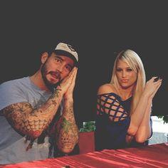 #BackstagePeek CM Punk & Kelly Kelly get ready to meet the WCW Universe!  #Wwe #WWERp #Wrestling #Wweleague #RandyOrton #EvaMarie #SethRollins #RomanReigns #Fit #fight #fitfam #Cesaro #FinnBalor #NXT #TotalDivas #aesthetic #fitnessfreak #fitnessmotivation #fitlife #fitnessaddict #gymlife #likeforfollow #like4like #likeforlike #spamforspam #spam4spam #WWFStrong #AjLee #kevinowens by wcw.inc