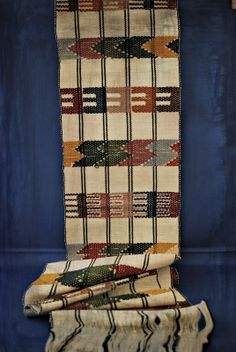 This table runner from Guatemala is handmade.  Size: 9inW X 74in L.  Individually Handmade: Due to the unique nature of our one-of-a-kind, handmade products, slight variations in design and/or color scheme might occur. We will try to match your item as closely as possible with the photo abov...