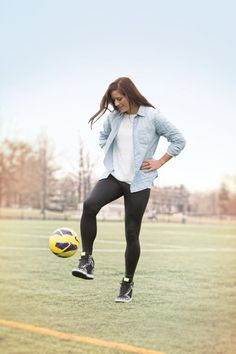 Back in the Game, Ali Krieger.  http://www.virginialiving.com/travel-leisure/back-in-the-game/ Photo: Cade Martin