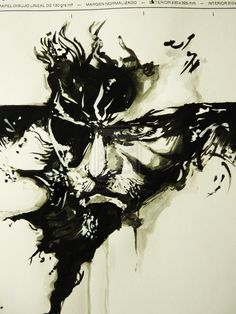 Fan art in the style of Yoji Shinkawa