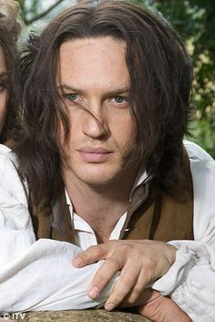 Tom Hardy as Heathcliff.  THIS! This is THE best version of Wuthering Heights I have ever seen!