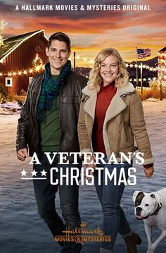 Its a Wonderful Movie - Your Guide to Family and Christmas Movies on TV: A Veteran's Christmas - a Hallmark Movies & Mysteries Miracles of Christmas Movie starring Eloise Mumford and Sean Faris! Hallmark Channel, Películas Hallmark, Films Hallmark, Hallmark Holiday Movies, Christmas Movies On Tv, Family Christmas, Hallmark Romantic Movies, Christmas Poster, Halloween Movies