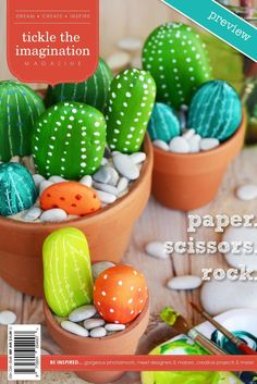 paper.scissors.rock. Issue 17 is a celebration of traditional fun, games and crafts we can enjoy with our children. feature stories... + the sunshine gang + big kids or little women + being present + springtime crafting + make organising child's play + rock of ages + campfire stories find the full issue at http://www.tickletheimagination.com.au/issues/issue17.php