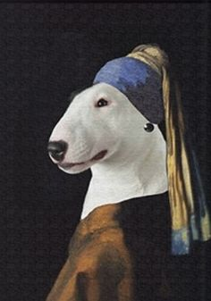 Bully with a Pearl Earring...lol