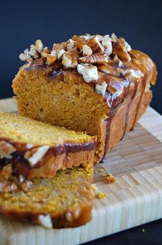 Are you kidding me ~~ Pumpkin Caramel Cheesecake Turtle Bread- wow!