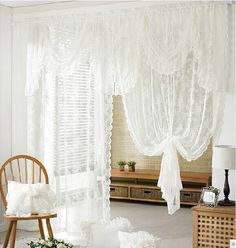 Bedroom quality elegant curtain Romantic finished valance curtains for wedding decoration window screening 1.4*2.3m 2pcs/lot
