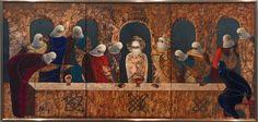 Тайная вечеря. 2002, сталь, эмаль, 65х135 Painting, Art, Art Background, Painting Art, Kunst, Paintings, Performing Arts, Painted Canvas, Drawings