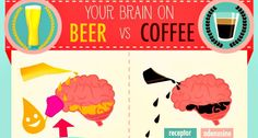 This Is How Your Brain Works On Coffee Vs. Beer. You Will Be Surprised By Both!
