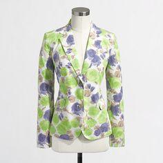 J.Crew+Factory+-+Factory+printed+blazer