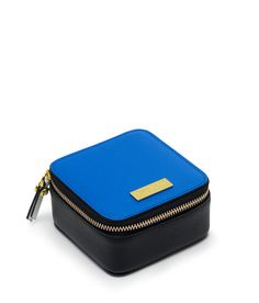 West 57th Color Blocked Small Travel Jewelry Case