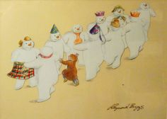 raymond briggs the snowman - Bing images Magical Christmas, Father Christmas, Christmas Fun, Christmas Cards, Raymond Briggs, Snowman Quilt, English Christmas, Winter Wonderland, Childhood Memories