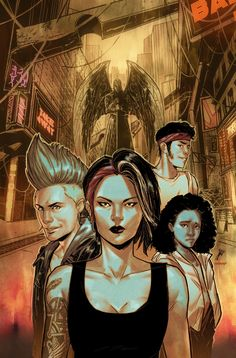 Journey to the purgatorial metropolis of the afterlife in Silver City from AfterShock Comics. Silver City, Horror Comics, Journey