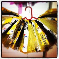 @Amanda Snelson for Adrianna.    Steelers Tutu (version 2). , via Etsy.