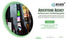 Wrap Advertising, Radio Advertising, Marketing Goals, Social Media Marketing, Digital Marketing, Event Management, Tv On The Radio, Printing Services, Cinema