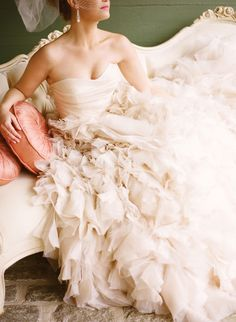 #Blush #WeddingDress