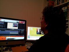 @lutzland schneidet das Interview mit Otto Herz #kreidezeit