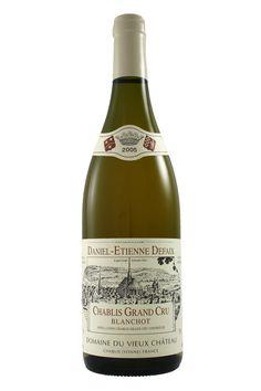 Fraziers Wine Merchants - Chablis Grand Cru Blanchot Daniel Defaix 2005, £49.99 (http://www.frazierswine.co.uk/chablis-grand-cru-blanchot-daniel-defaix-2005/)
