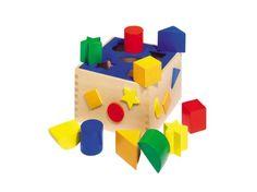 Wooden Sort Box 7″ by Goki