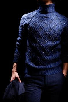 sartorialjohnnyboy:Cashmere turtleneck - style guide - by ....