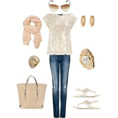 Day at the Pier, created by sdemes on Polyvore