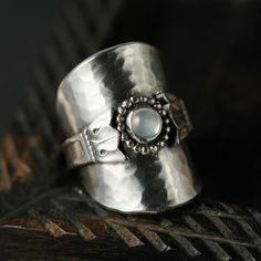 Lily Moon - recycled spoon ring