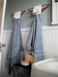 12 DIY Bathroom Ideas - Kapstok