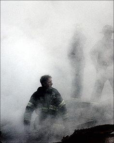 Fire Fighter World Trade Center 9/11 NYC 8x10 Silver Halide Photo Print