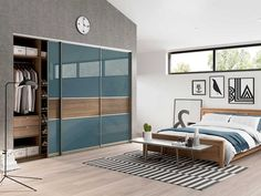 30 Modern Sliding Door Design For Your Home Inspiration 25 - July 14 2019 at Wall Wardrobe Design, Sliding Door Wardrobe Designs, Sliding Door Design, Wardrobe Room, Modern Sliding Doors, Bedroom Cupboard Designs, Wardrobe Furniture, Bedroom Closet Design, Bedroom Furniture Design