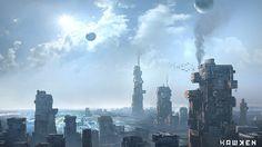 Scene Crion City by jungpark on deviantART