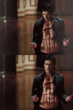 """iansomerhalder-fans: """"Damon Salvatore """""""