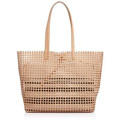 Loeffler Randall Beach Perforated Tote (9 035 UAH) ❤ liked on Polyvore featuring bags, handbags, tote bags, bolso, carteras, leather tote, perforated leather tote, handbags totes, genuine leather tote and leather tote bag