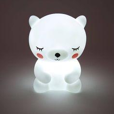 Ksks Baby Children Night Light LED Bear Cartoon Bedside Lampe Kid Schlafzimmer L… - Babyzimmer Cute Night Lights, Led Night Light, Light Led, Led Warning Lights, Bear Cartoon, Cute Panda, Night Lamps, Baby Kind, Kids Gifts