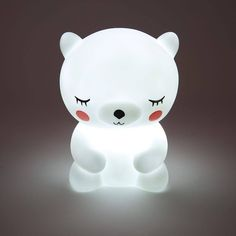 Ksks Baby Children Night Light LED Bear Cartoon Bedside Lampe Kid Schlafzimmer L… - Babyzimmer Cute Night Lights, Led Night Light, Light Led, Led Warning Lights, Cute Room Decor, Bear Cartoon, Cute Panda, Baby Kind, Kids Gifts