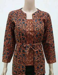 Blouse Batik, Batik Dress, Blouse Dress, Kimono, African Fashion, Indian Fashion, Womens Fashion, Foto Chika, Mode Batik