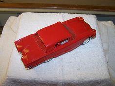1960 Ford Thunderbird Hardtop Promo Model Car (Monte Carlo Red)