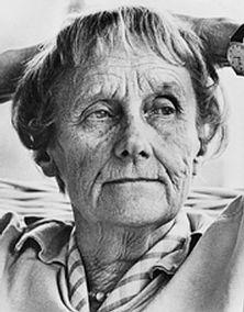 Astrid Lindgren...author of pippi longstocking