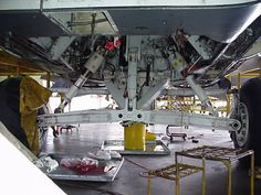 The F-111 main gear not only had massive tires (giving it a very smooth ride on the ground), but was designed so that if one tire extended, they both would extend, adding a measure of safety some aircraft lack.